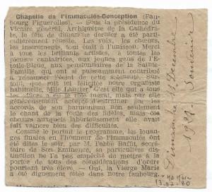 Article du 11.12.1921